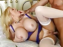 ride wife big-tits boobs cougar crazy deepthroat fatty fuck