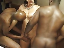 wife amateur black housewife interracial milf threesome