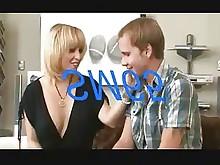 stocking black blonde fuck juicy milf pussy