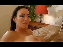 mature milf playing seduced big-tits boobs brunette facials friends