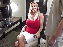 blonde cougar hd hidden-cam hot mature wife