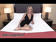 mammy mature milf pov amateur ass big-tits blonde creampie