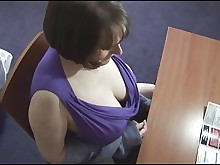 bus busty erotic hairy mature milf panties posing solo