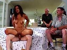 big-tits blowjob boobs close-up couch fatty fuck hardcore horny
