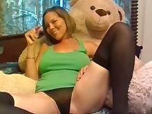 amateur big-tits boobs brunette fuck milf pretty smoking stocking
