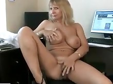 boss fingering housewife mammy masturbation mature milf pussy wife