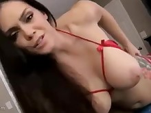 amateur big-tits brunette bus busty fetish fuck jerking mammy