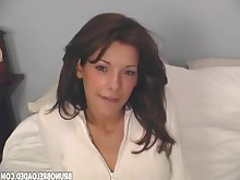 brunette dolly milf really