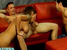 anal ass blowjob close-up big-cock couple hardcore ladyboy licking