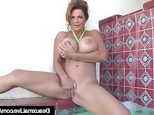 ass babe big-tits bikini boobs brunette bus busty cougar