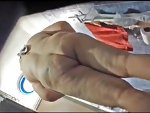 amateur ass big-tits boobs bbw mammy milf shower voyer