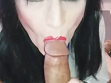 amateur black blowjob brunette cougar cumshot ebony hot interracial