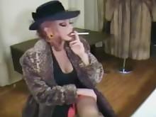 big-tits boobs mature smoking