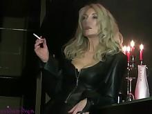 fetish kinky mature smoking