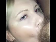 amateur blonde deepthroat hairy hardcore licking milf oral pov