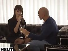 anal ass blowjob boyfriend brunette cumshot friends fuck hot