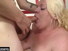 blonde blowjob cum cumshot facials bbw fatty fuck hardcore