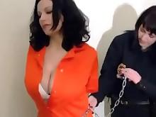 ass bdsm big-tits boobs brunette fetish mammy milf uniform