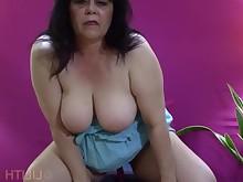 ass big-tits boobs brunette cumshot bbw fatty mammy masturbation