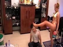 bdsm bus crazy feet foot-fetish mammy milf slave spanking