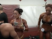 korean mammy milf public sport