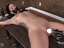 babe bdsm big-tits boobs brunette dancing exotic fetish mammy