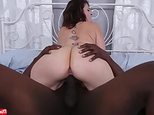 ass big-tits black boobs brunette big-cock creampie dolly hot