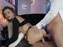 amateur anal babe blowjob brunette dolly double-penetration fuck gang-bang