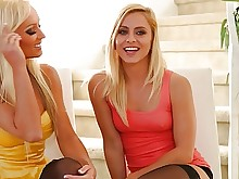fuck juicy lesbian old-and-young pornstar teen babe blonde