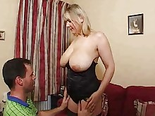 big-tits blonde boobs bus mature