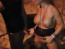 beach big-tits blowjob boobs doggy-style group-sex mammy mature milf